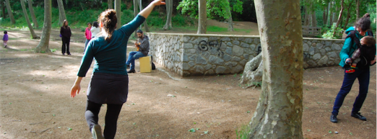 danza en la naturaleza -